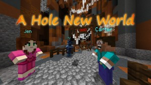 Скачать A Hole New World для Minecraft 1.14.4