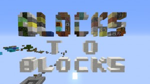 Скачать Blocks to Blocks для Minecraft 1.12.1