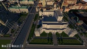 Скачать World of Worlds для Minecraft 1.10.2